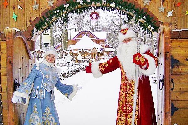 Беловежская пуща. Поместье Деда Мороза. Зима