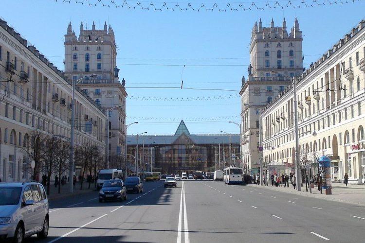 Вокзал и Ворота города Минска