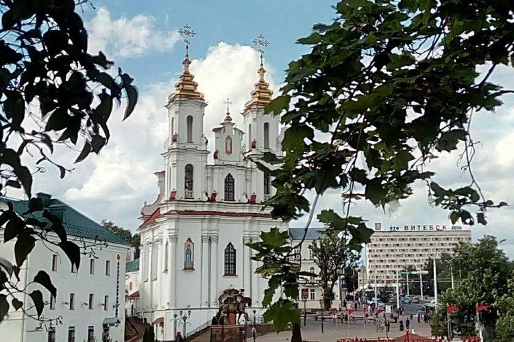 Воскресенская церковь Витебск