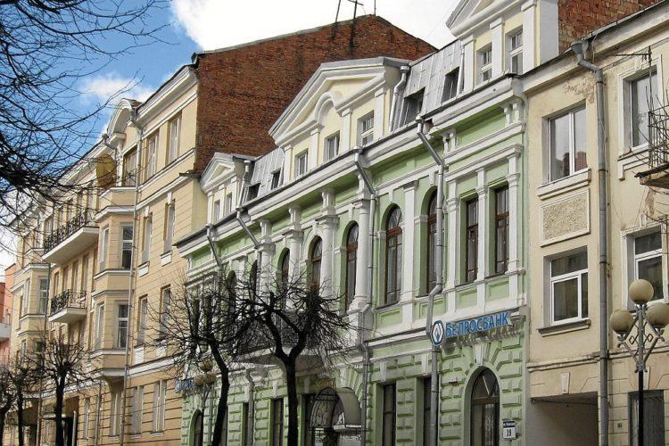 Застройка XIXв. в Витебске