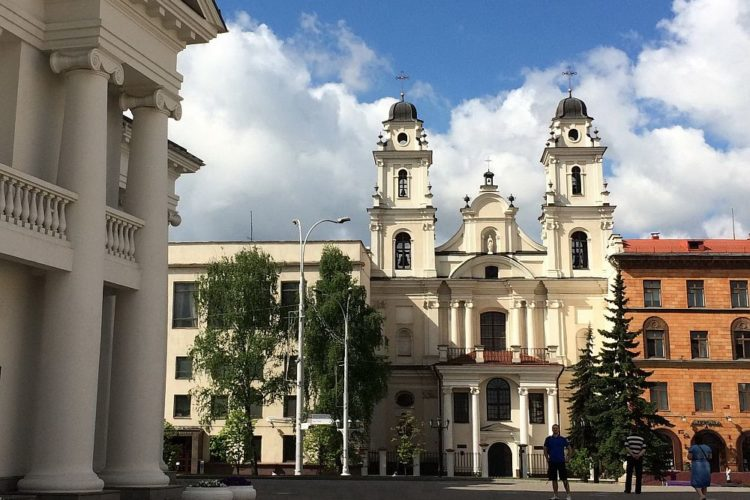 Кафедральный католический собор Девы Марии в Минске