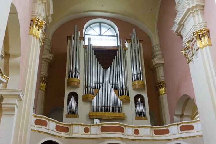 Орган в Полоцке