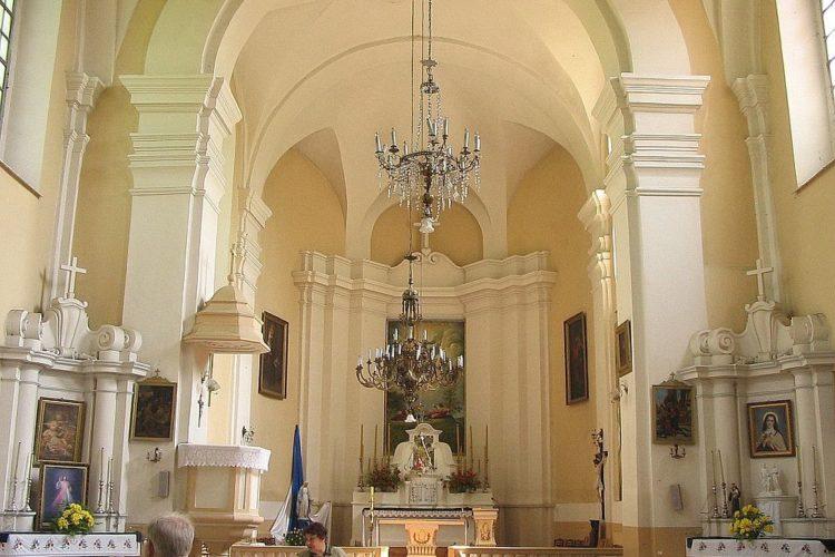 Костел в Новогрудке в котором крестили Адама Мицкевича
