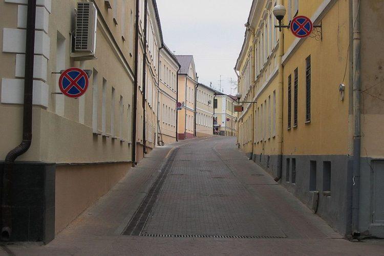 Старые улицы в Гродно