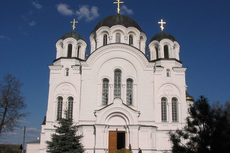 Крестовоздвиженская церковь в Полоцке
