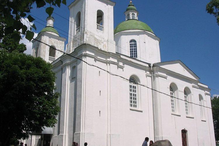 Церковь Богоявленского монастыря в Полоцке