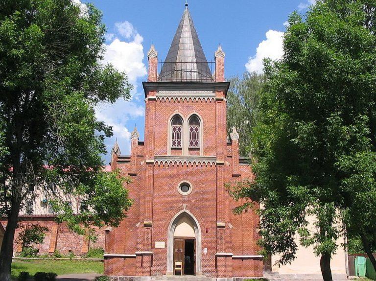 Лютеранская церковь в Полоцке