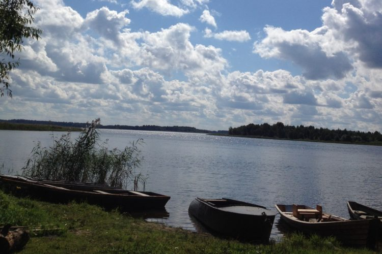 Беларусь. Озеро