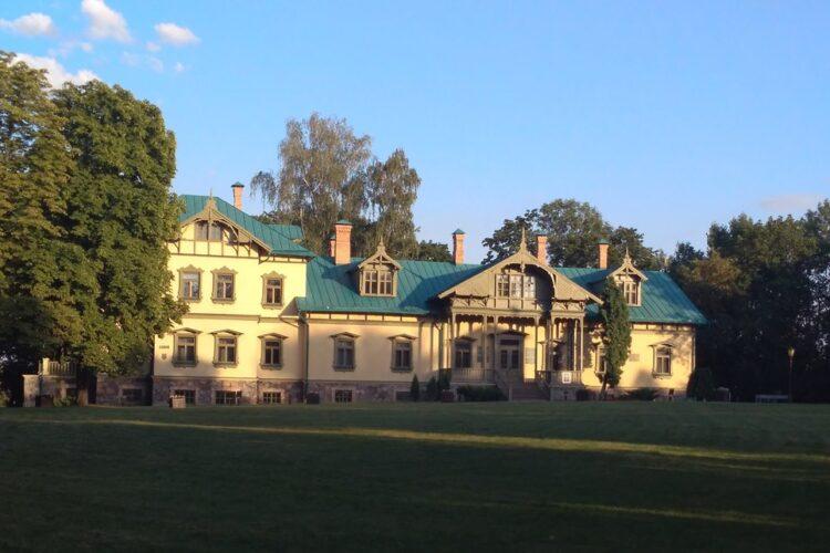 Лошицкий парк в Минске. Дом помещика