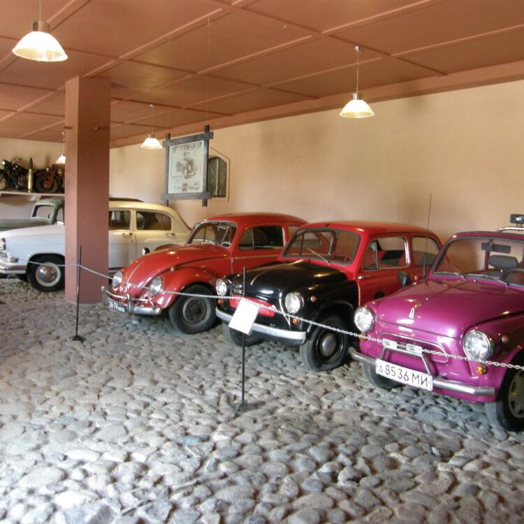 Дудутки. Музей ретро автомобилей